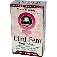 Cimi-Fem Menopause Source Naturals Review