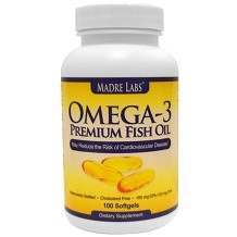 Madre Labs Omega-3 Premium Fish Oil Review