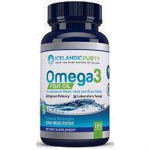 Quadruple Strength Omega 3 Fish Oil Icelandic Purity supplement review