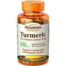 Sundown Naturals Turmeric supplement