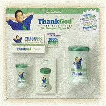 ThankGod Piles Management System Kit for hemorrhoids