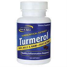 North American Herb and Spice Turmerol turmeric supplement review