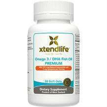 Xtendlife Omega 3 DHA Fish Oil supplement