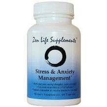 Zen Life Supplement Stress & Anxiety