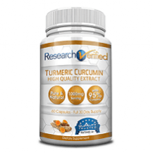 Research Verified Turmeric Curcumin supplement Review