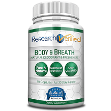 Research Verified Body & Breath Natural Deodorant Freshener Review