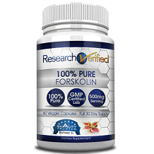 ResearchVerified Forskolin supplement