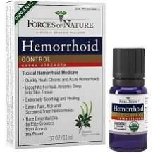 Forces of Nature Hemorrhoid Control Extra Strength Review