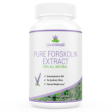 LiveWell Labs Pure Forskolin Extract Review