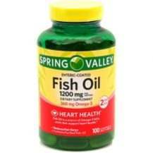Spring Valley Fish Oil Review