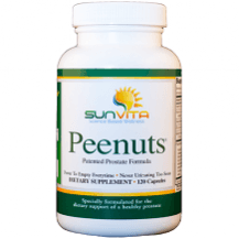 Sunvita Peenuts prostate supplement Review