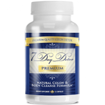 7 Day Detox Premium Supplement for colon cleansing