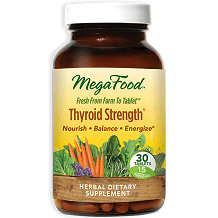 FoodState MegaFood Thyroid Strength Review