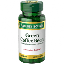 Nature's Bounty Green Coffee Bean with Raspberry Ketones and Green Tea Review