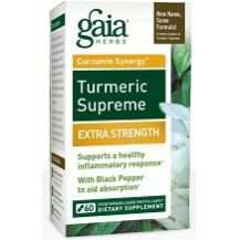 Gaia Herbs Turmeric Supreme Extra Strength Review