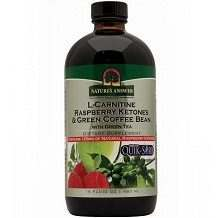 Nature's Answer L Carnitine Raspberry Ketones & Green Coffee Bean Review