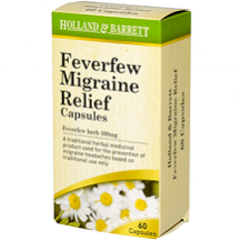 Holland & Barrett Feverfew Migraine Relief Review