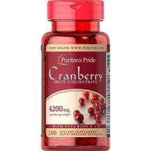 Puritan's Pride Cranberry Fruit Concentrate Review