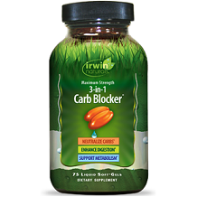 Irwin Naturals 3-In-1 Carb Blocker Review