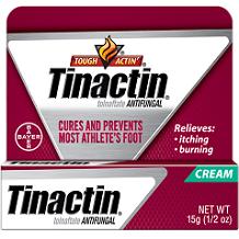 Tinactin Athlete's Foot Cream Review