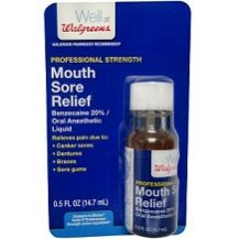Walgreens Mouth Sore Relief Review