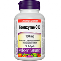 Webber Naturals Coenzyme Q10 supplement Review