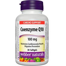 Webber Naturals Coenzyme Q10 supplement Review