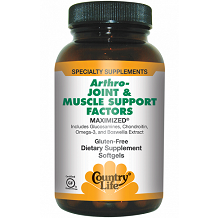 Country Life Arthro-Joint & Muscle Support Factors Review