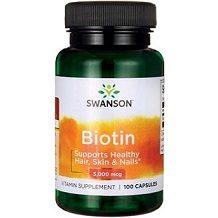 Swanson Vitamins Biotin Review