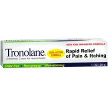 Tronolane Dual Action Anesthetic Cream Review