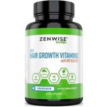 Zenwise Health Hair Growth Vitamins with DHT Blocker