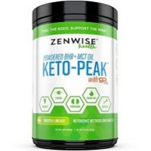 Zenwise Health Powdered BHB and MCT Keto-Peak Review