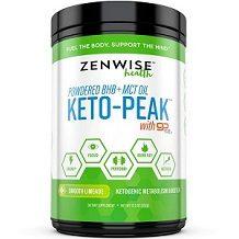 Zenwise Health Powdered BHB and MCT Keto-Peak Review