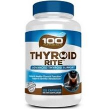 100 Naturals Thyroid Rite for Thyroid