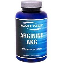 Bodytech Arginine AKG for Nitric Oxide