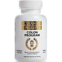 Cleanse Purify Colon Program for Colon Cleanse