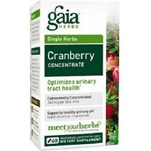 Gaia Cranberry Concentrate for Urinary Tract Infection