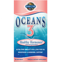Garden of Life Oceans 3 Healthy Hormones for Menopause