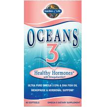 Garden of Life Oceans 3 Healthy Hormones for Menopause