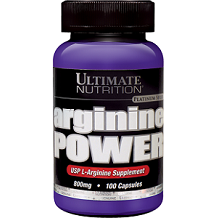 Ultimate Nutrition Arginine Power Nitric Oxide