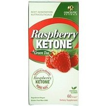 Genceutic Naturals PURE RAS Raspberry Ketone with Green Tea for Weight Loss