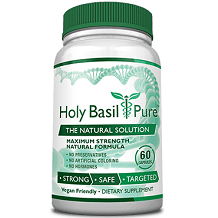 Holy Basil Pure for Health and Well-Being