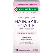 Nature's Bounty Extra Strength Hair Skin & Nails for Hair Growth