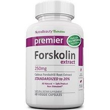 Nutra Beauty Nutrition Forskolin Extract for Weight Loss
