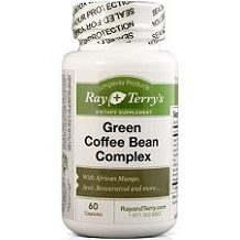 Ray & Terry's Green Coffee Bean Complex for Weight Loss