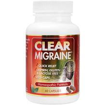 Clear Products Clear Migraine for Migraine Relief