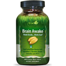 Irwin's Naturals Brain Awake for Brain Booster