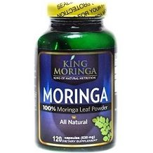 King Moringa Moringa Capsules for Health & Well-Being