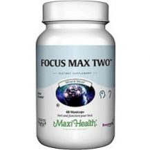Maxi-Health Focus Max Two for Brain Booster