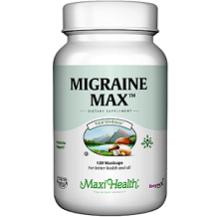 Maxi Health Migraine Max for Migraine Relief